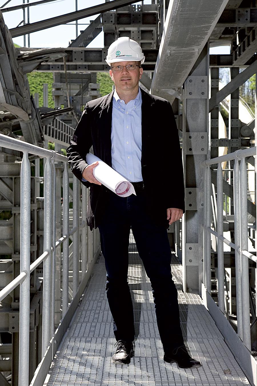 Stefano Guandalini (42) engineer at Pini Swiss, Lugano (Switzerland)